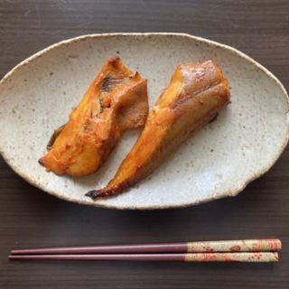 ギンガレイの味噌焼き