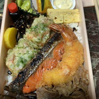 海苔弁当(飯家 くーた 西中洲店 )