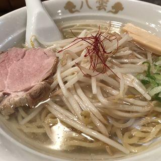 塩ラーメン(麺匠 八雲 大和店)