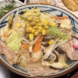 ちゃんぽんうどん(丸亀製麺 米沢店)