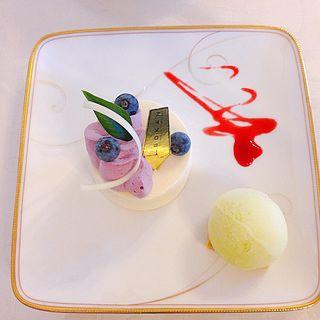 レアチーズケーキ(五感 北浜本館 (GOKAN ゴカン))