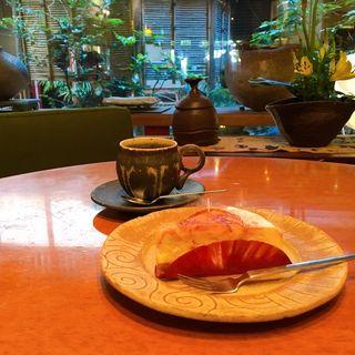 マーブルチーズケーキ(セカンドハウス ケーキワークス 東洞院店 )