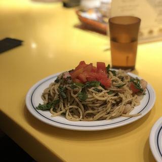 醤油バジリコスパゲティ(関谷スパゲティ )