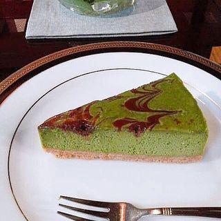 抹茶チョコチーズケーキ