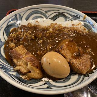 豚角煮カレーライス(千虎 (チコ))