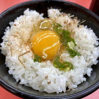 玉子かけご飯(ラーメン山岡家 新すすきの店)
