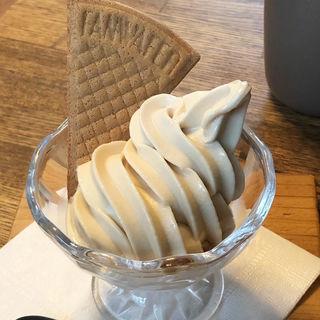 きなこのソフトクリーム(TAYORI)