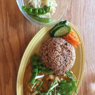 酵素玄米のカレーセット