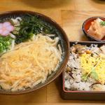 五目寿司定食