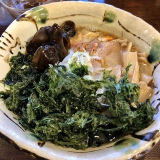 塩ラーメン+岩のり(いち井 (いちい))