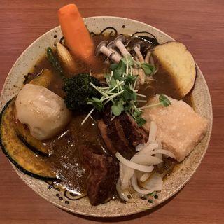 スープカレー(豚の角煮)