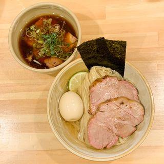 鰹昆布出汁 特製・醤油つけ麺(迂直 (ウチョク) )