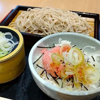 ネギトロ丼せいろセット(天常庵)