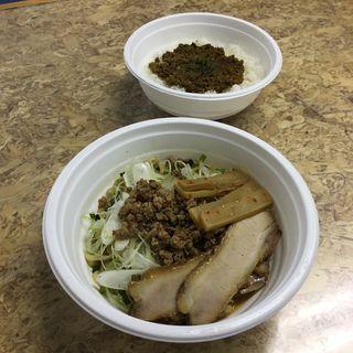 麺と丼のセット(テイクアウト限定メニュー)(麺家 喜多楽 (めんや きたら))