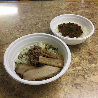 麺と丼のセット(テイクアウト限定メニュー)