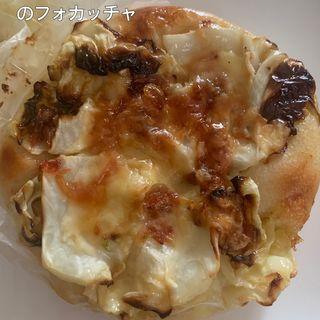 干しエビとキャベツのフォカッチャ(マグベーカリー)