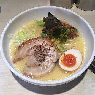 極み鶏ラーメン(並)(ゴル麺。 横浜本店 (ゴルメン))