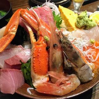 豪華海鮮丼(市場食堂 さかなや )