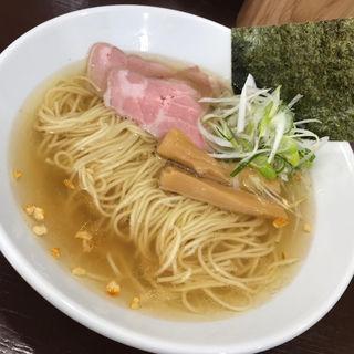 中華そば醤油(中華そば うお青)