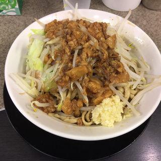 油そば (豚2枚)
