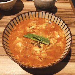 豆腐チゲ(赤身焼肉USHIO (アカミヤキニク ウシオ))