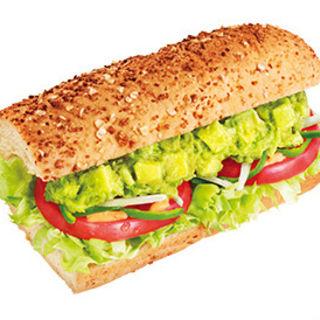 アボカドベジー Avocado & Veggie フットロング(SUBWAY イーグレひめじ店)