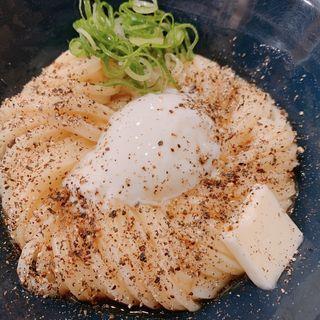 バター+ペッパー+温泉卵(慎)