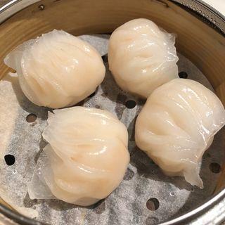 海老の蒸し餃子(添好運 日比谷店)