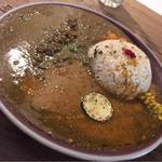 ラムキーマと野菜のカレー