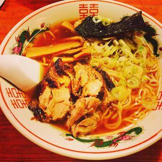 醤油ラーメン(丸田)