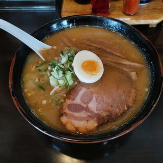 みそラーメン(ラーメン専門 三代目 月見軒 本店)