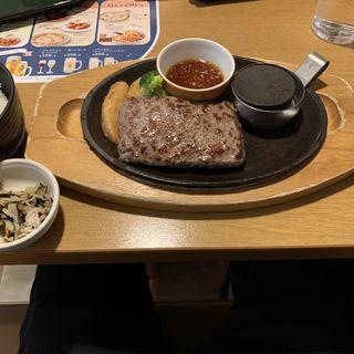 ココスビーフハンバーグステーキ(ココス 二又瀬店 )