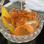 野菜と桜海老のバーニャカウダ