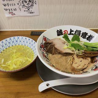 鶏と鮪と帆立の和え麺(竹末食堂 )