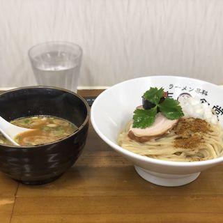 夏野菜とスパイスな味噌つけ麺