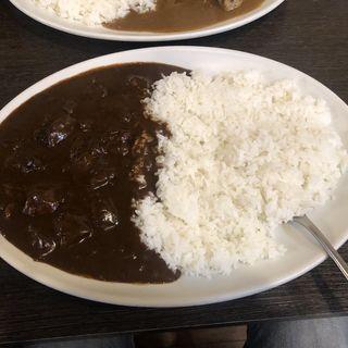 ビーフカレー ビーフダブル(心斎橋MADRAS5)