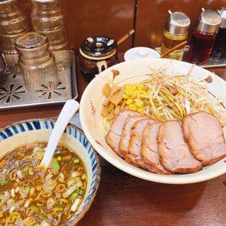 元味つけ麺チャーシュー麺 中盛り 熱盛り