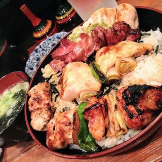 焼き鳥丼(鳥政)