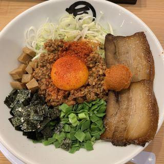 闘魂台湾まぜそば(麺やマルショウ 地下鉄新大阪店 )