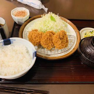 ロースかつ定食(とんかつ まい泉 青山本店 (まいせん))