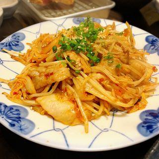 豚キムチ炒め(鍋焼ぼうず)