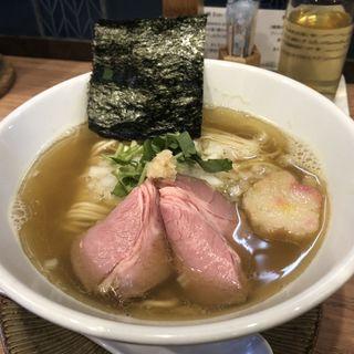 生姜煮干しソバ(中華ソバ 篤々 TOKU-TOKU)