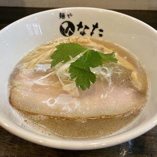 豚骨塩清湯らーめん(麺や ひなた)