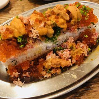 海鮮こぼれ寿司(#uni Seafood)