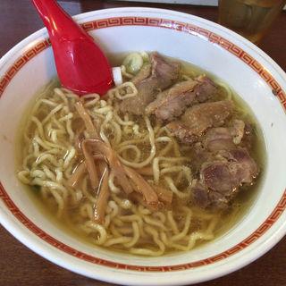 鶏チャーシュー麺 醤油味(中華そば 嘉一)
