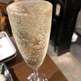 スパークリングワイン(天ぷらとワイン大塩 天五横丁店)