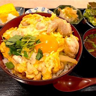 親子丼定食(成城 (【旧店名】鳥ぎん 成城店))