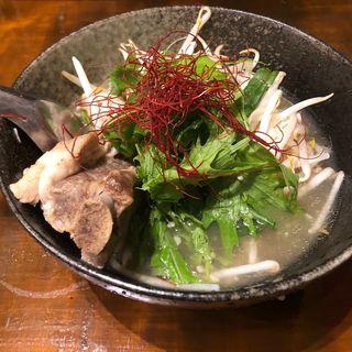 大阪肉骨茶(バクテー)ポーク豚肉バクテー
