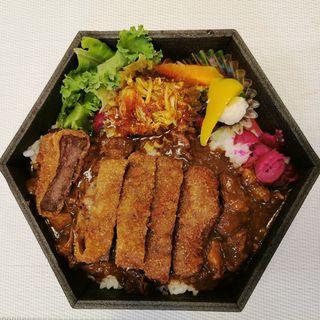 熟成但馬玄カツ&牛タンカレー (西麻布 焼肉 X (ヤキニク テン・YAKINIKU TEN))