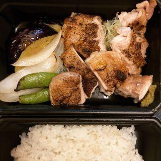 鶏と春野菜のお弁当(中俣酒造 茂助)